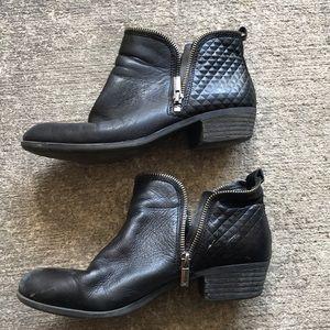 Lucky Brand Black Booties sz 8